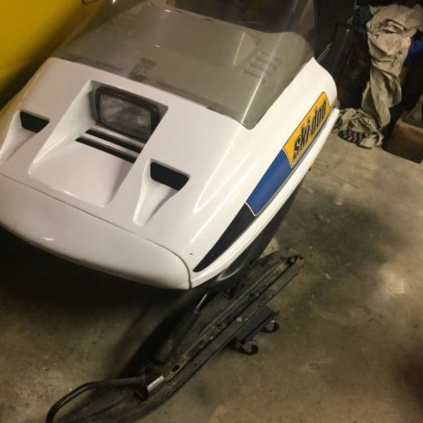 Make Your Next Trail Ride Miserable With This 1986 Ski-Doo SP