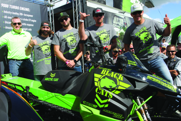 Arctic Cat Announces Backcountry Ambassadors with the Black Cat Squadron