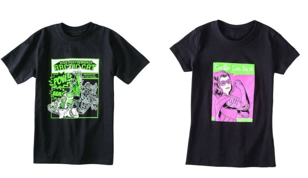 Just in Time for Christmas…Arctic Cat Boys and Girls T-Shirts