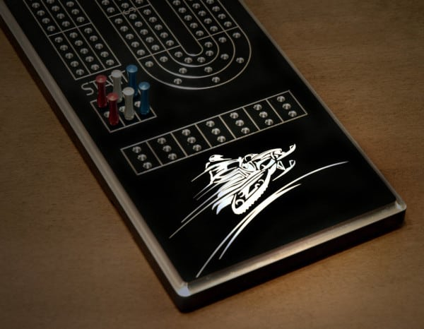 More Last Minute Sledder Gifts – Solid Aluminum Customized Sledder Cribbage Boards