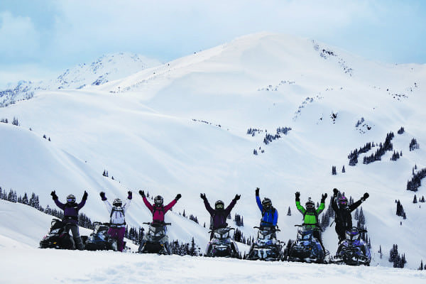 She-Shreds  and Ski-Doo Join Forces for Backcountry Adventures
