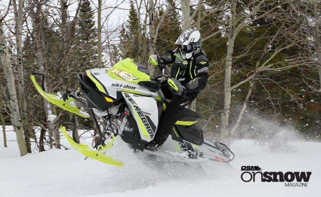 Ski-Doo 2018 Highlights – GEN4 Renegade Expands to Extreme Terrain XRS