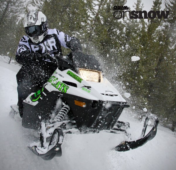 Arctic Cat New ZR200 is More Than Just Two-Thirds Cool