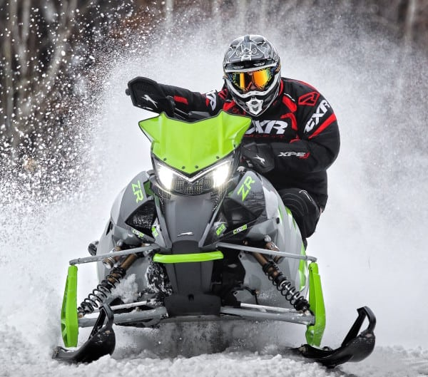 2018 Arctic Cat – The New 800 CTEC2 Motor Is a Bonafide Ripper