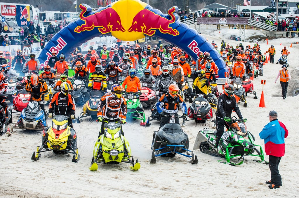 Last winter ERX hosted one of the most talked about and successful snowmobile competitions. The Red Bull Snow Boundaries event followed the ERX mold of grassroots racing, giving riders of every caliber a chance to compete on a grueling closed loop, 7-mile cross country loop.