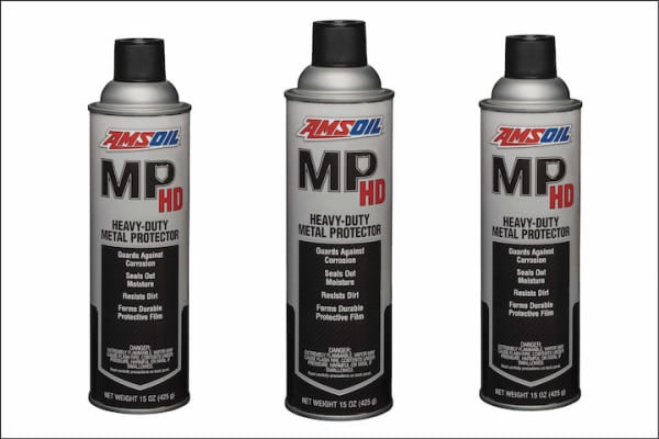 TIRED OF LOOKING AT YOUR SLED'S CORRODED COMPONENTS? PROTECT THEM WITH AMSOIL