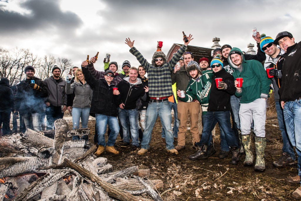 ERX has become a social hang-out for all motorsports enthusiasts; a place to be and be seen, even when not racing, as evidenced by this goodtime hangout during the 2017 Red Bull Snow Boundaries event.