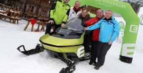 Snowbird E-Snowmobile