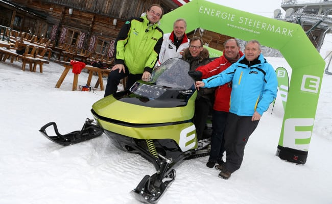 ALL CHARGED UP FOR SNOW – ELECTRIC SNOWMOBILES ARE COMING