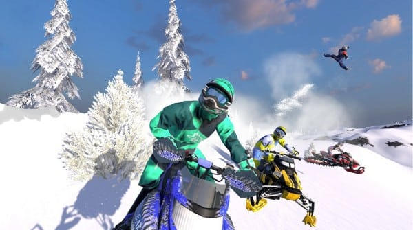 YOU CAN STILL GET YOUR RIDE ON – NEW SNOW MOTO RACING FREEDOM GAME HITS