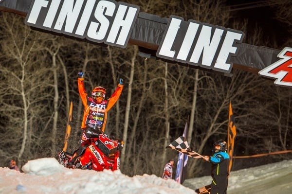 WINNING BIG WAS THE NORM FOR POLARIS SNOWMOBILE RACERS DURING THE 2017 SEASON