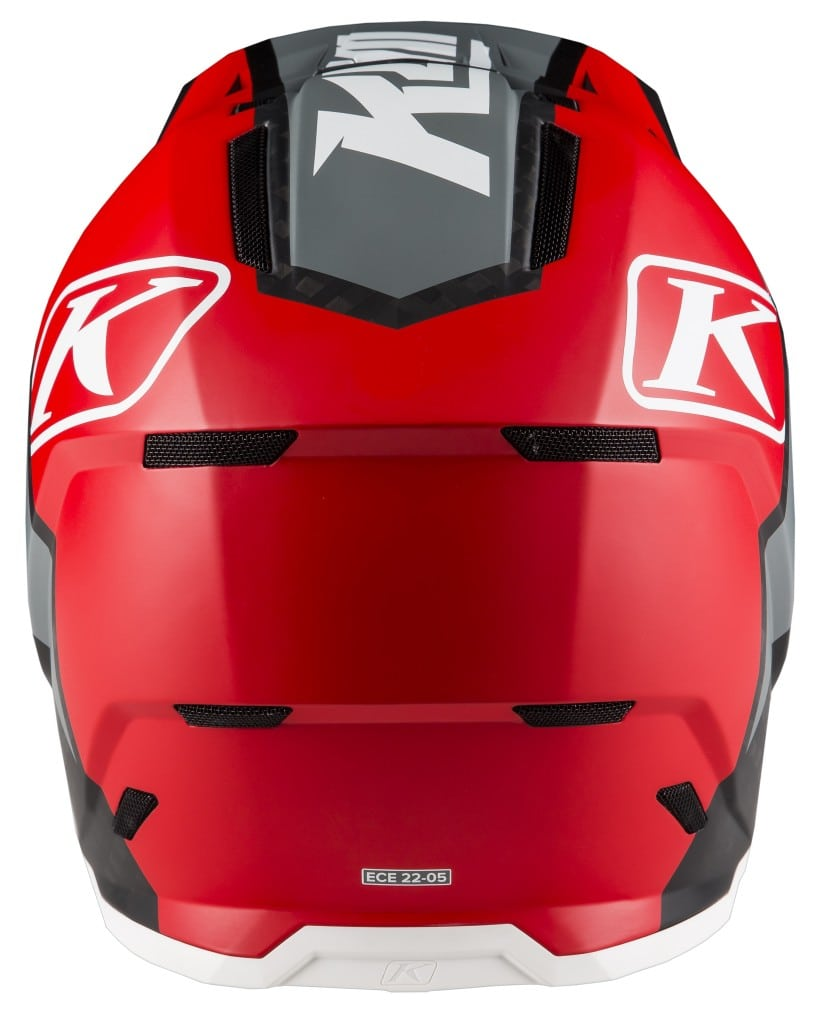 3910-000-004 F5 Helmet Ion Red D3