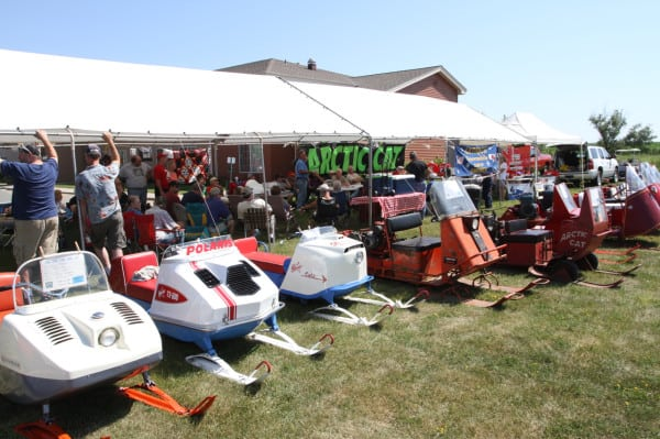 Sweating to the Oldies – Antique Snowmobile Club of America Summer Meeting