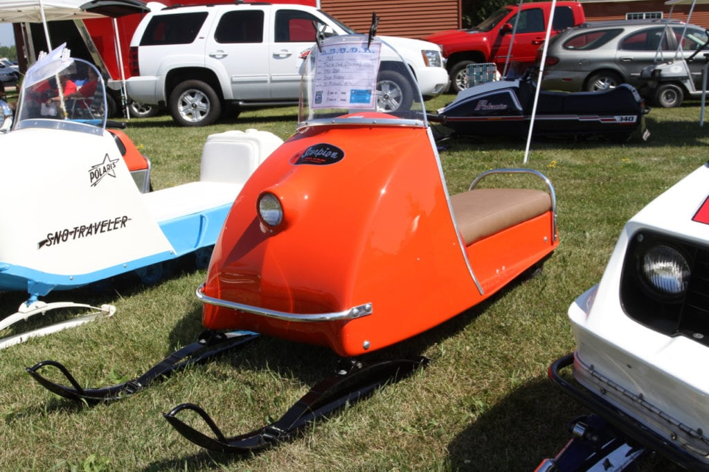 There were plenty of good looking vintage buggies on display at the ASCOA meeting including this sharp early Scorpion.