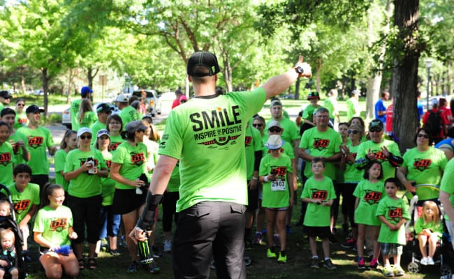 Join Team 68 – Walk with Tucker Hibbert and Help Children's Wishes Come True