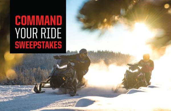 EXCLUSIVE SWEEPSTAKES – COMMAND AND WIN THE ULTIMATE RIDE WITH POLARIS AND OSM