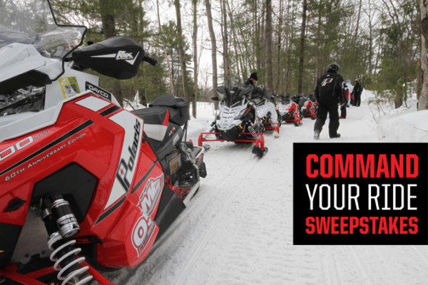 The Route Has Been Set for the Command Your Ride Sweepstakes!