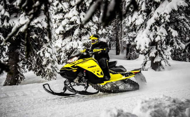 NEW GEN4 MXZ 600R E-TEC HIGHLIGHTS SKI-DOO MID-SEASON RELEASE