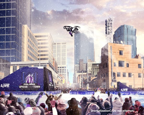 Levi LaVallee and Polaris Look to Turn Minneapolis Super Bowl Upside Down