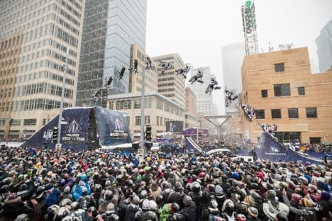 LEVI LAVALLEE TURNS MINNEAPOLIS UPSIDE DOWN DURING SUPER BOWL 52