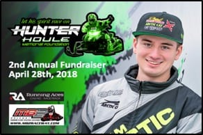 DATE IS SET FOR SECOND ANNUAL HUNTER HOULE MEMORIAL FOUNDATION EVENT