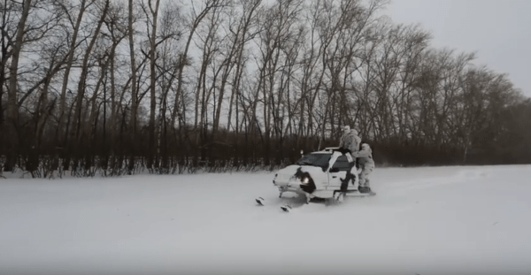 NO WRAP REQUIRED – RUSSIAN MILITARY GRADE BERKUT SNOWMOBILE IS A BAD MO-FO