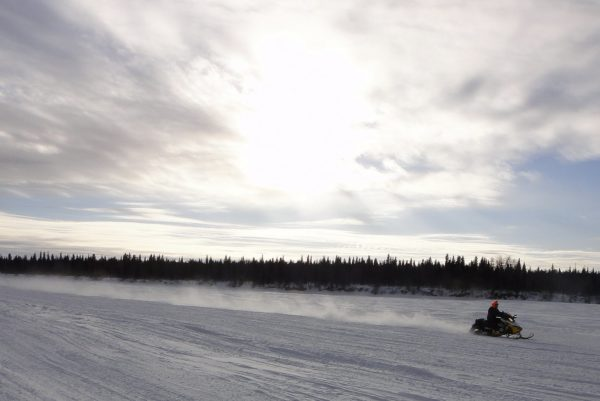 RUNNING ON FUMES, FUTURE OF LEGENDARY ALASKAN IRON DOG SNOWMOBILE RACE IN QUESTION