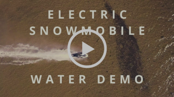 TAIGA SNOWMOBILE VS WATER