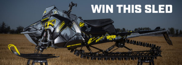WIN THE KLIM 20TH ANNIVERSARY EDITION 2019 POLARIS 850 PRO RMK 163