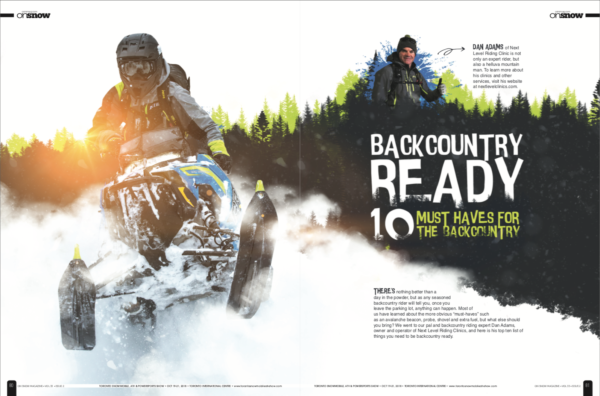 BACKCOUNTRY READY – 10 MUST HAVES FOR THE BACKCOUNTRY
