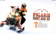 FIRST BURN – POLARIS INDY 850 XC