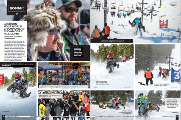 SCENE IT – JACKSON HOLE WORLD CHAMPIONSHIP SNOWMOBILE HILL CLIMB