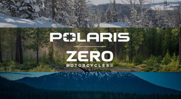 POLARIS ANNOUNCES 10-YEAR PARTNERSHIP WITH ZERO MOTORCYCLES.