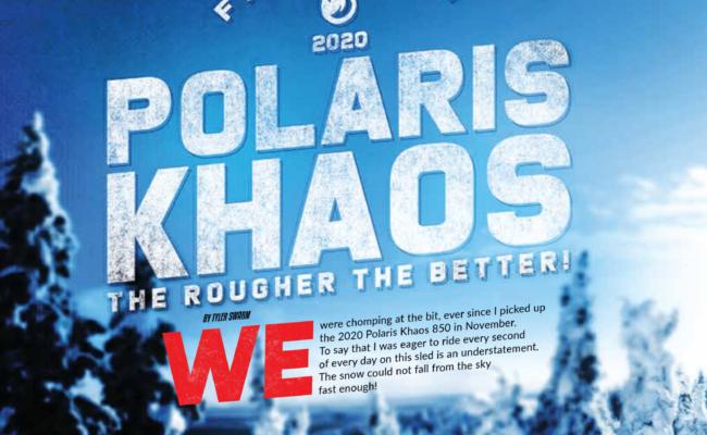 First Burn!  2020 Polaris Khaos The Rougher The Better!