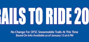 No Change For OFSC Snowmobile Trails At This Time