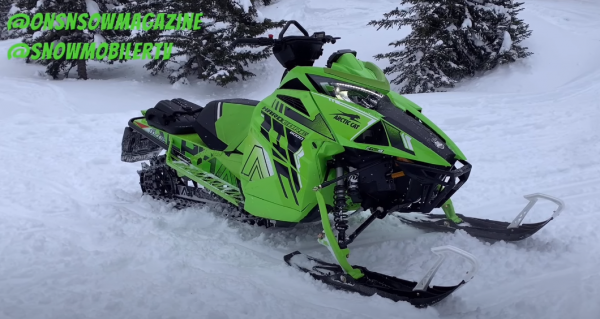 2022 Arctic Cat M8000 Hardcore Alpha One 146