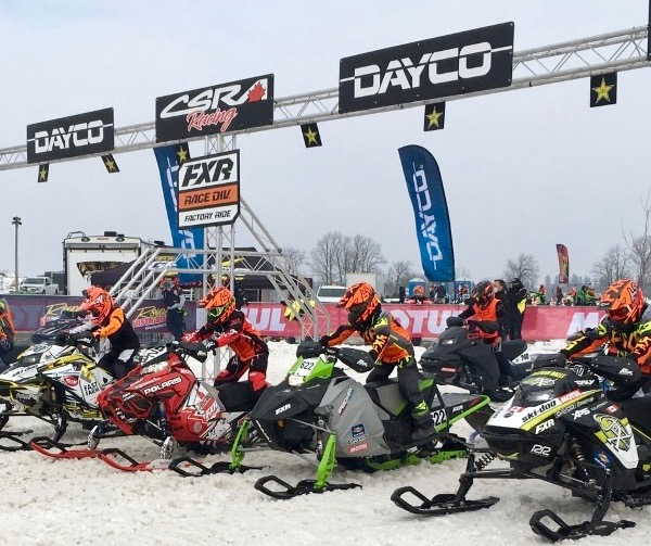 DAYCO Sponsors Canadian Snowcross Racing Series