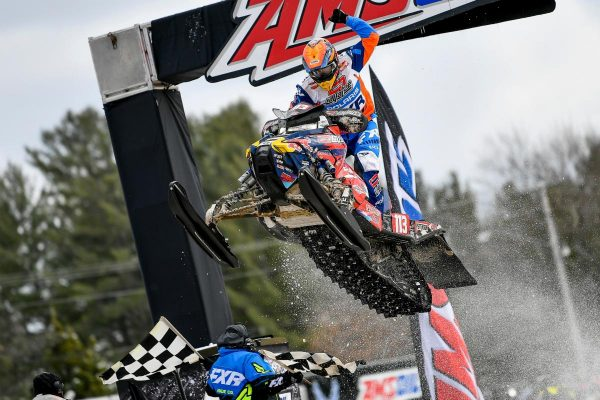 TEAM LAVALLEE: CHAMP, ADAM PETERSON, WINS BIG AT EAGLE RIVER SNOCROSS FINALE