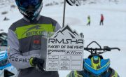 TEAM ARCTIC MEMBER RILEY KINCAID COTED RMSHA RACER OF THE YEAR