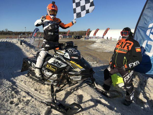 TAYLOR McCOY FROM ST-ONGE SKI-DOO RACING WINS CSRA PRO CHAMPIONSHIP