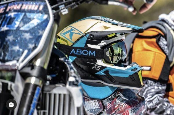 Abom Heated Anti-Fog Snowmobile, Snowboard & Ski Goggles