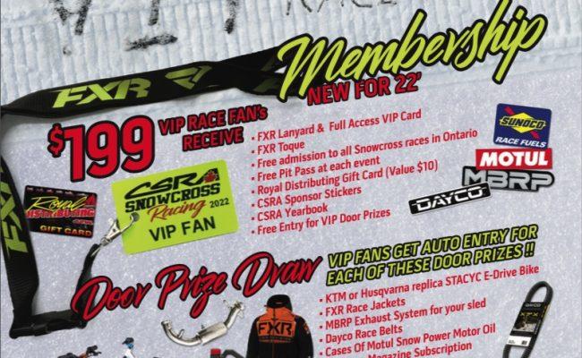 CSRA kicks off their 2022 season with a VIP Race Fan Membership
